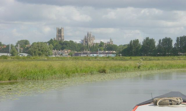 Ely Cathedral from River